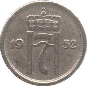 25 Øre - Haakon VII -  obverse