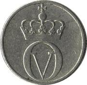 10 Øre - Olav V (large letters) -  obverse