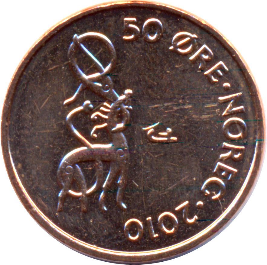 50 Øre - Harald V - Norway - Numista