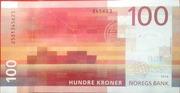 100 Kroner – reverse