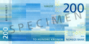200 Kroner – reverse
