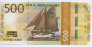 500 Kroner – obverse