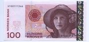 100 Kroner – obverse