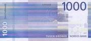 1 000 Kroner – reverse