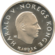 100 Kroner - Harald V (1994 Olympics - Figure Skating) -  obverse