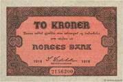 2 Kroner – obverse