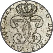 24 Skilling Danske - Christian VII – obverse