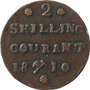 2 Skilling Courant - Frederik VI – reverse