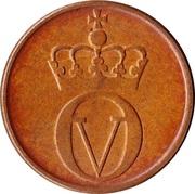 2 Øre - Olav V (large letters) -  obverse