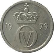 10 Øre - Olav V -  obverse