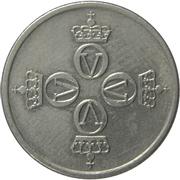 25 Øre - Olav V -  obverse