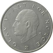 1 Krone - Olav V -  obverse