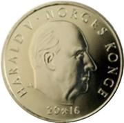 20 Kroner - Harald V (Norges Bank Bicentenary) – obverse