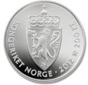200 Kroner - Harald V (King & Queen) – reverse