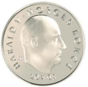 200 Kroner - Harald V (Henrik Wergeland) – obverse
