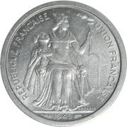 2 Francs (Union Française) – obverse
