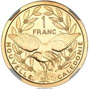 1 Franc (Piedfort) – reverse