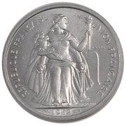 5 Francs (Trial strike) – obverse