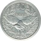 50 Centimes (Piedfort with essai) – reverse