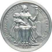 2 Francs (Piedfort trial strike) – obverse