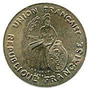 1 Franc (Trial strike) – obverse
