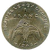 1 Franc (Trial strike) – reverse
