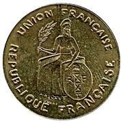 2 Francs (Trial strike) – obverse