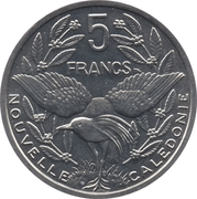 5 Francs (IEOM) – reverse