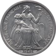1 Franc (Union française) – obverse