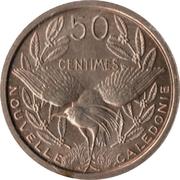 50 Centimes (Essai) – reverse