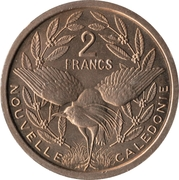 2 Francs (Essai) – reverse