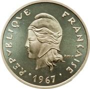 20 Francs (Piedfort silver) – obverse