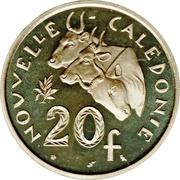 20 Francs (Piedfort silver) – reverse