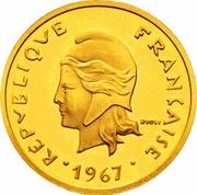 20 Francs (Piedfort gold) – obverse