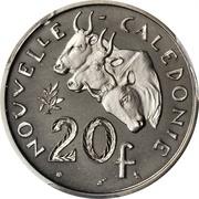20 Francs (Piedfort nickel) – reverse