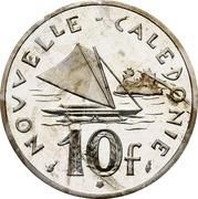 10 Francs (Piedfort nickel) – reverse