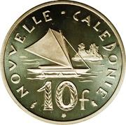 10 Francs (Piedfort silver) – reverse