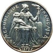 5 Francs (Piedfort silver) – obverse