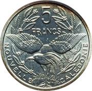 5 Francs (Piedfort silver) – reverse
