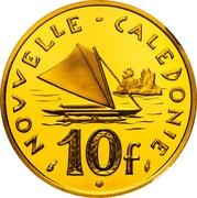 10 Francs (Piedfort gold) – reverse