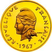 10 Francs (Piedfort gold) – obverse