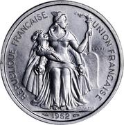 5 Francs (Piedfort with essai) – obverse