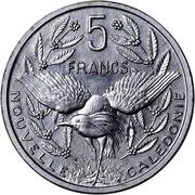 5 Francs (Piedfort with essai) – reverse