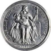 1 Franc (Piedfort with essai) – obverse