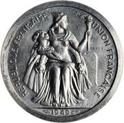 2 Francs (Piedfort with essai) – obverse