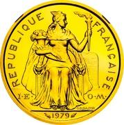 2 Francs (Piedfort gold) – obverse