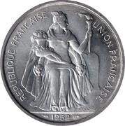 5 Francs (Union française) – obverse
