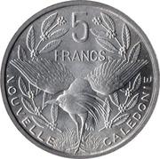 5 Francs (Union française) – reverse