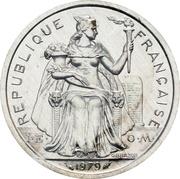 2 Francs (Piedfort aluminium) – obverse
