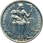 2 Francs (Piedfort silver) – obverse